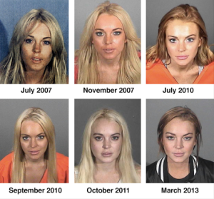 Lindsay Lohan has been arrested multiple times