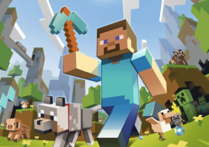 The mother of all trends that drove mothers mental. Minecraft.
