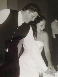 My wedding pic taken by a friend wouldn't make the Gen Y cut - bad lighting, mouth open, not the best resolution.
