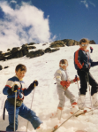Me at the top with sis (middle) and little bro (bottom)